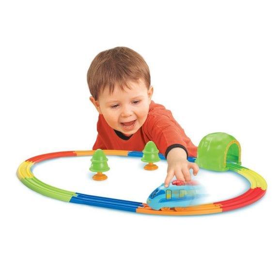רכבת צבעונית ומסלול - טומי