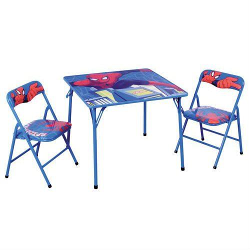 סט שולחן וכיסאות - ספיידרמן