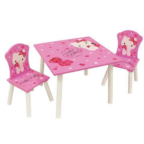 סט שולחן וכיסאות - הלו קיטי