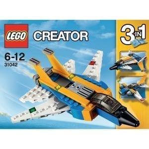 לגו קריאטור - מטוס סילון 31042