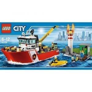 לגו סיטי - ספינת כיבוי אש 60109