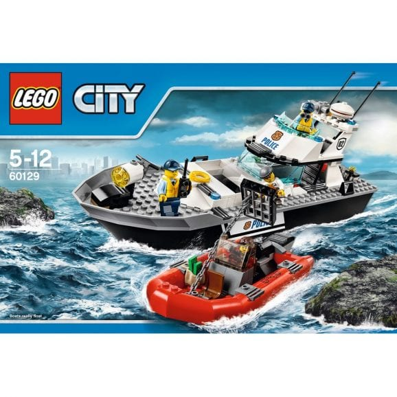 לגו סיטי - ספינת שיטור 60129
