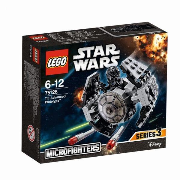 לגו מלחמת הכוכבים -חללית אבטיפוס 75128