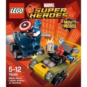 לגו סופר הירו - קפטן אמריקה 76065