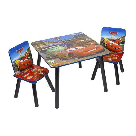 סט שולחן ו-2 כיסאות מכוניות