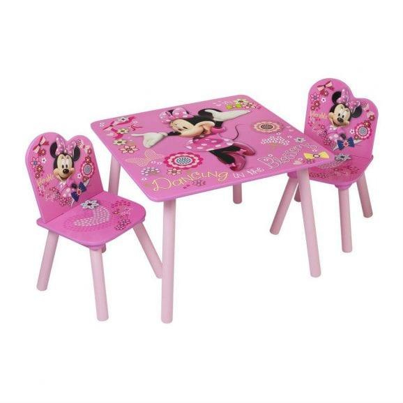 סט שולחן ו-2 כיסאות מיני מאוס