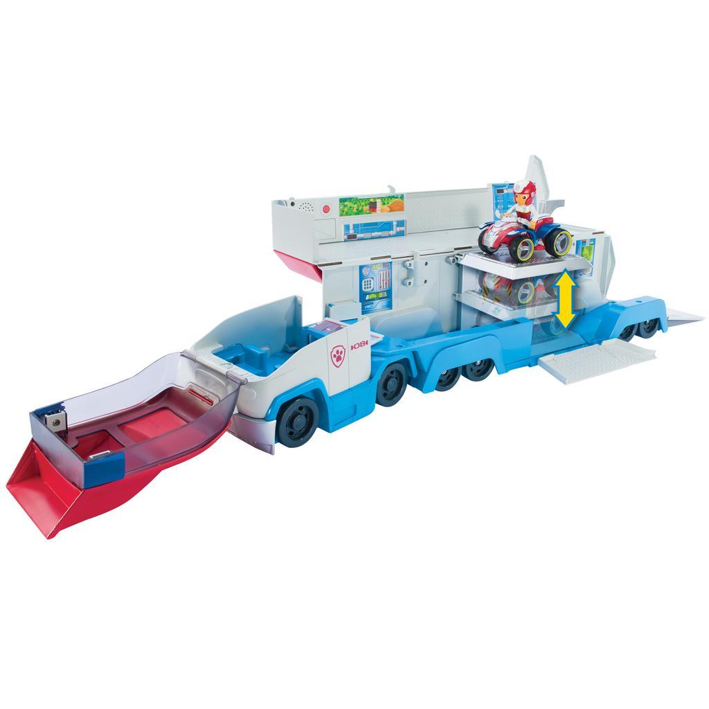 משאית תובלה ענקית - מפרץ ההרפתקאות