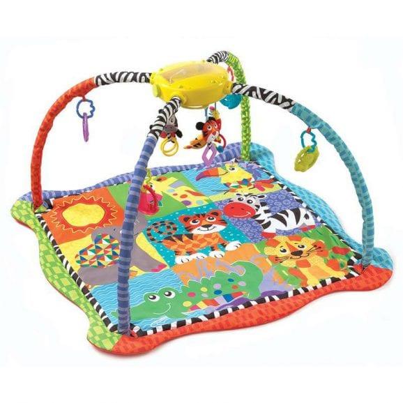 משטח פעילות לתינוק - גן חיות