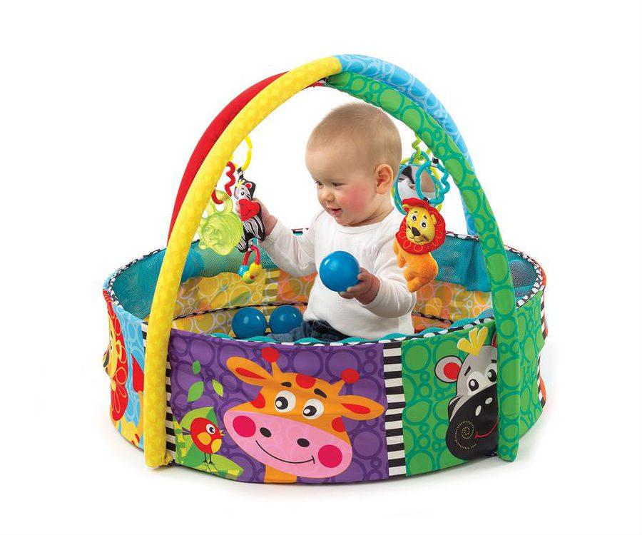 משטח פעילות כדורים לתינוק - פלייגרו
