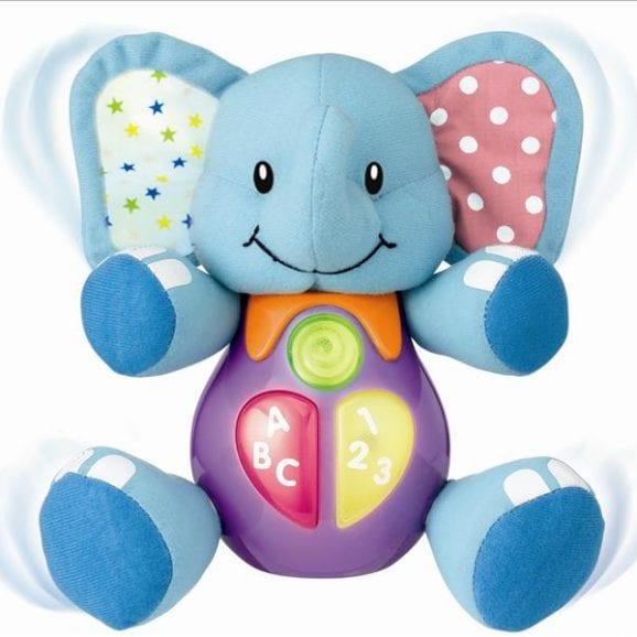 בובת חבר חכם - פיל כחול לימודי