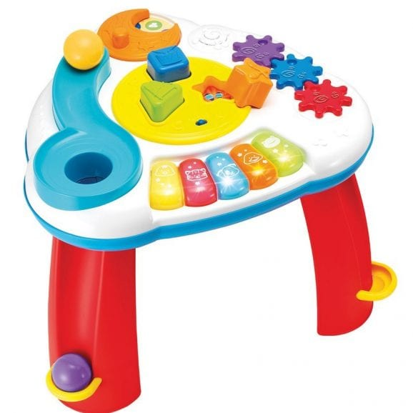 שולחן פעילות - כדורים וצורות