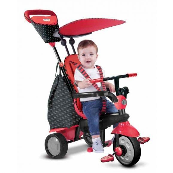 Smart Trike Glow- אדום