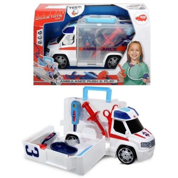 רכב אמבולנס גדול - דיקי