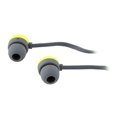 אוזניות עם מיקרופון - צהוב