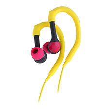 אוזניות ספורט - צהוב