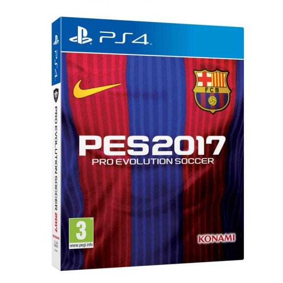 PRO EVOLUTION SOCCER 2017  SPECIAL EDITION  - PS4