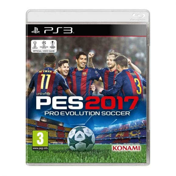 PRO EVOLUTION SOCCER 2017 -PS3