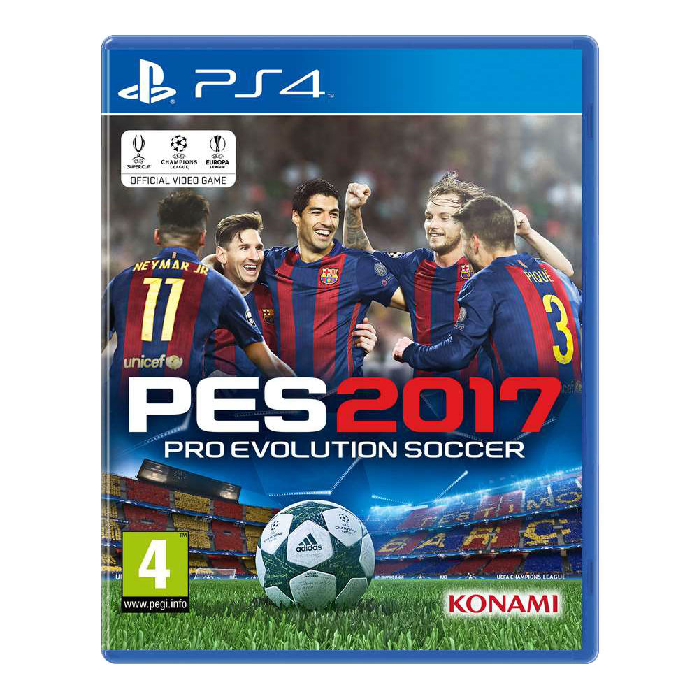 PRO EVOLUTION SOCCER 2017 -PS4