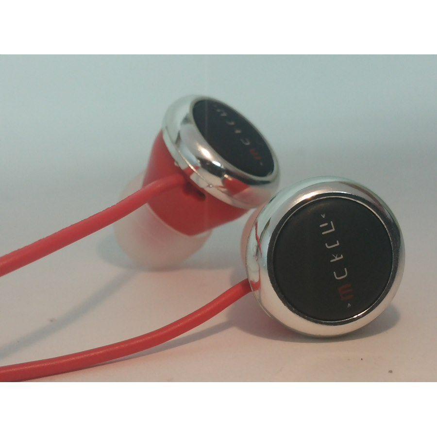 אוזניות סיליקון אדום/שחור