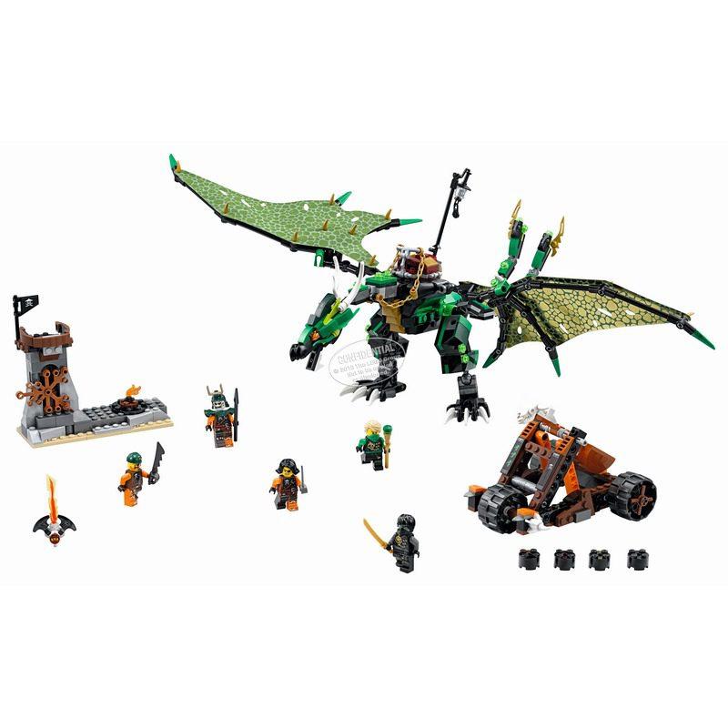 לגו נינג'גו - דרקון 70593