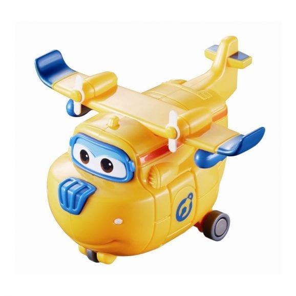 מטוס על מיני ג'ט צהוב