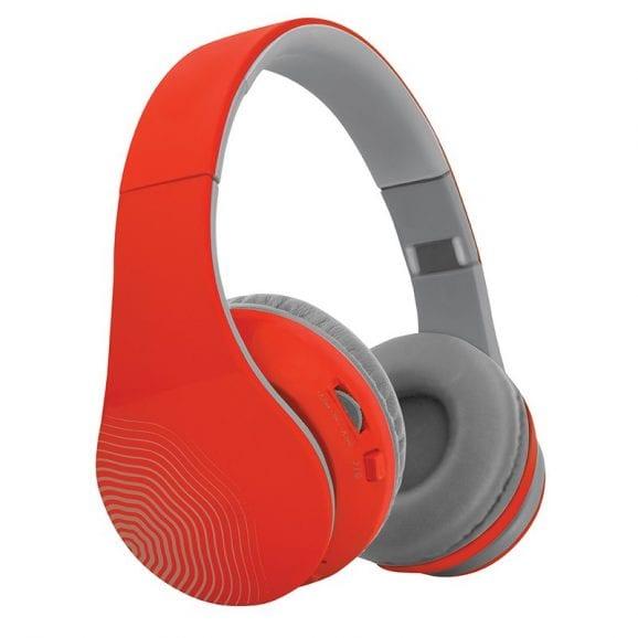 אוזניות בלוטוס אלחוטיות – אדום