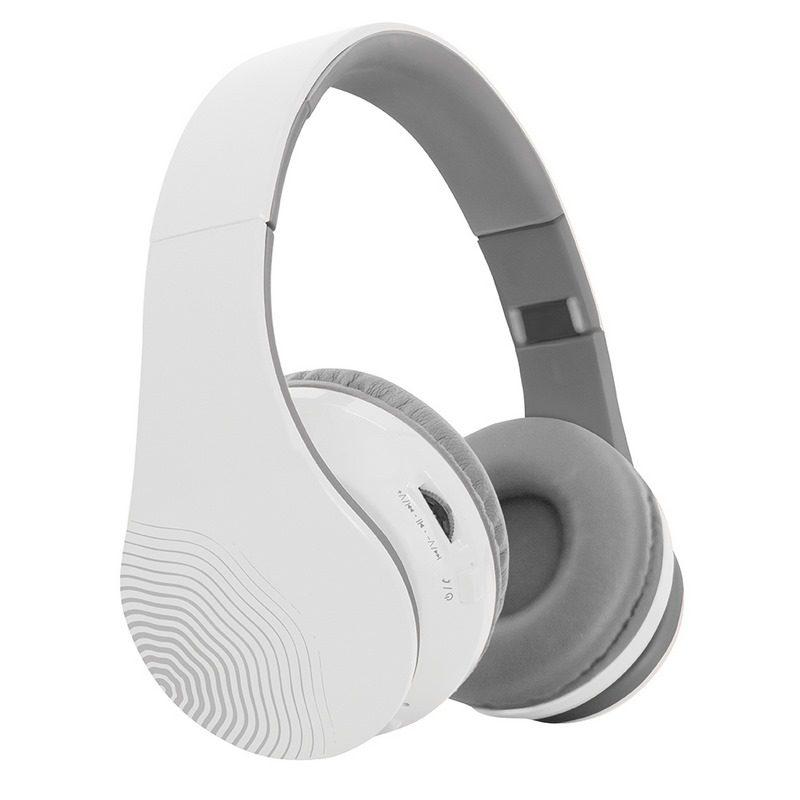 אוזניות בלוטוס אלחוטיות - לבן