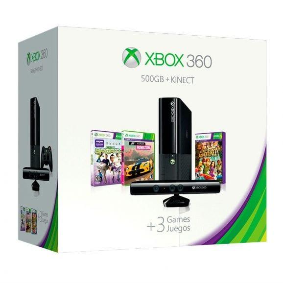 קונסולת משחקים XBOX 360+חיישן+בקר+3 משחקים