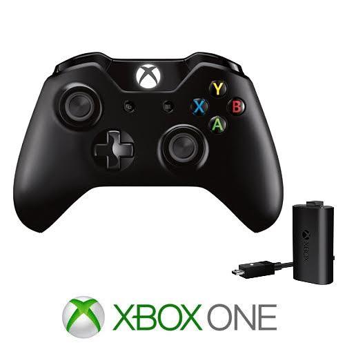 XBOX ONE S בקר אלחוטי - שחור/לבן
