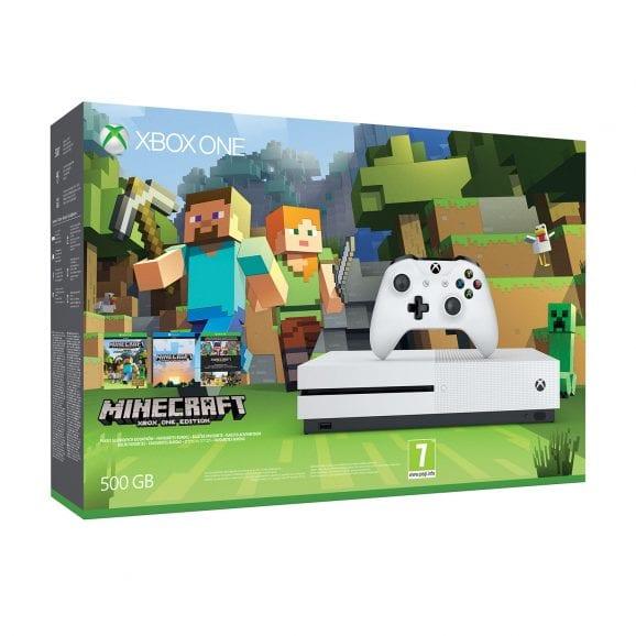 קונסולת משחקים XBOX ONE S+בקר+משחק