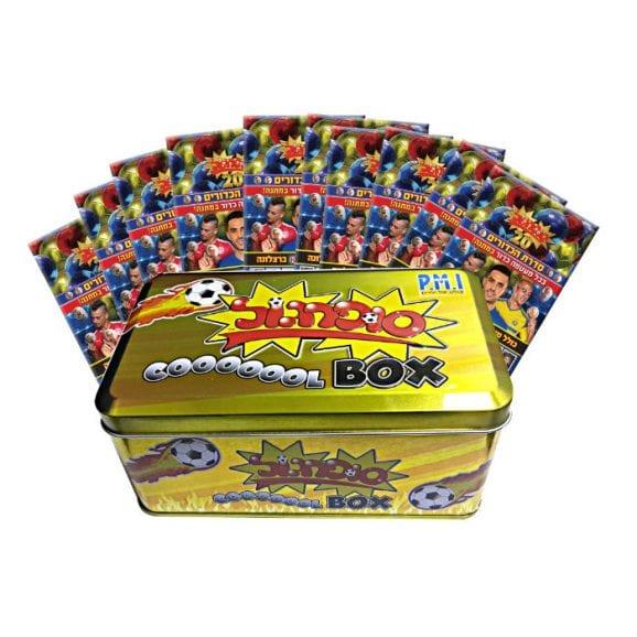 קופסת אספן זהב 10 מעטפות סדרת הכדורים+4 אסים