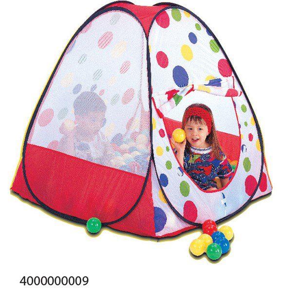 אוהל+100 כדורים
