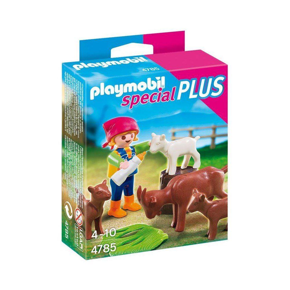 ילדה עם עזים - פליימוביל 4785