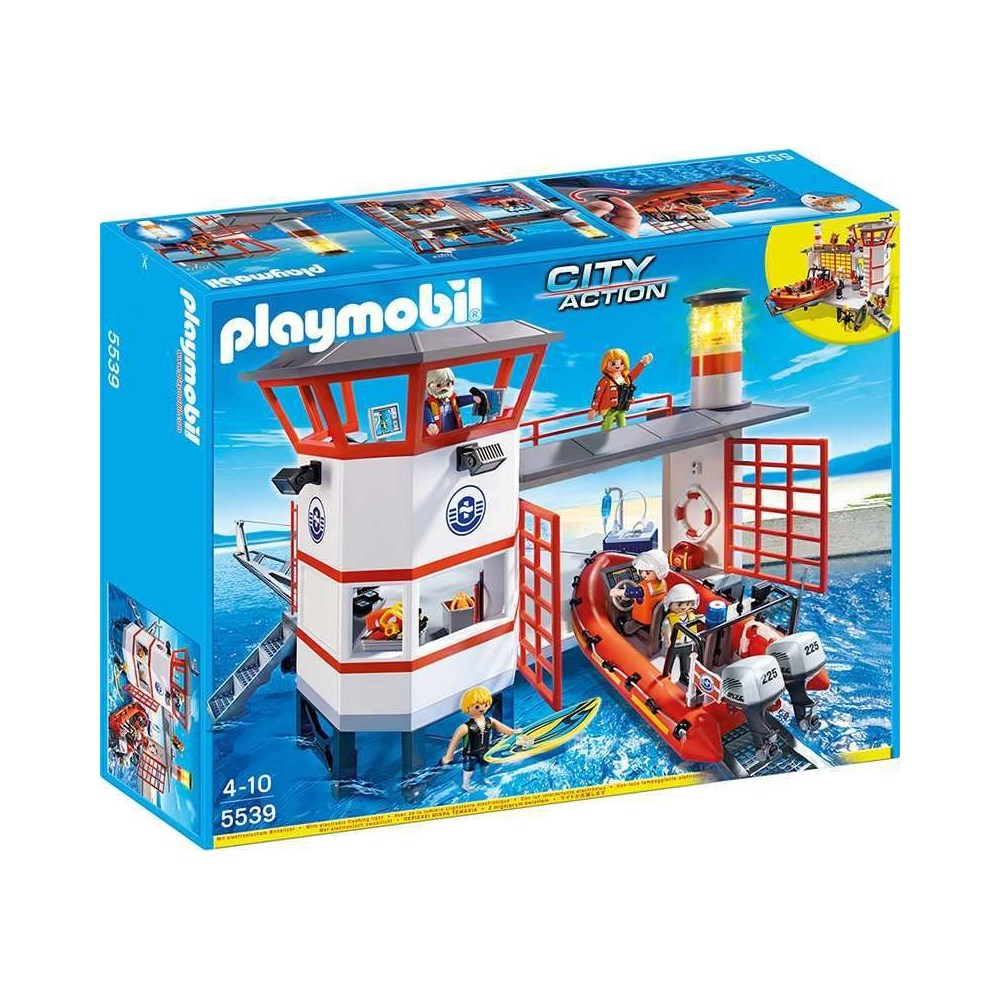 תחנת משמר החופים - פליימוביל 5539