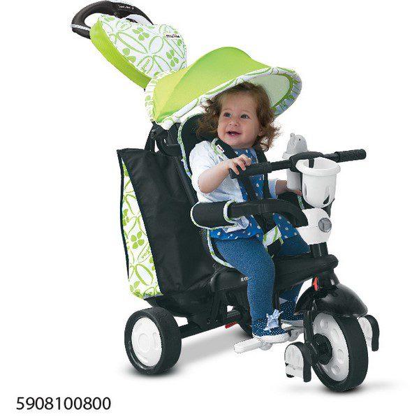 Smart Trike Chic- שחור ירוק