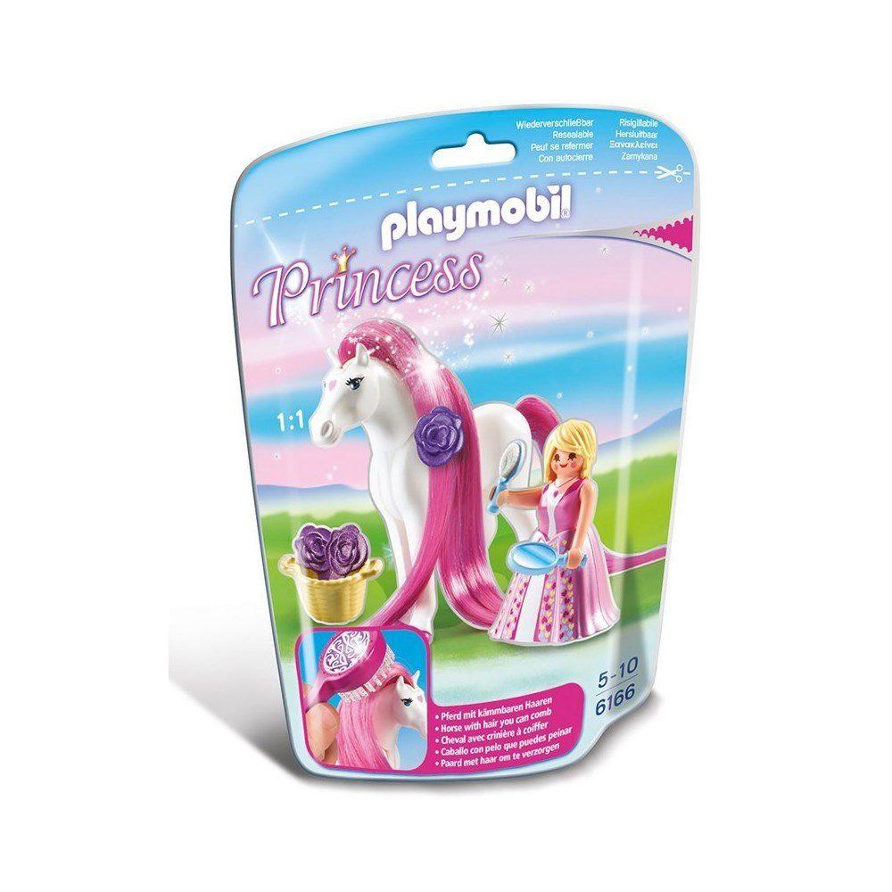 הנסיכה רוזלי עם סוס - פליימוביל 6166
