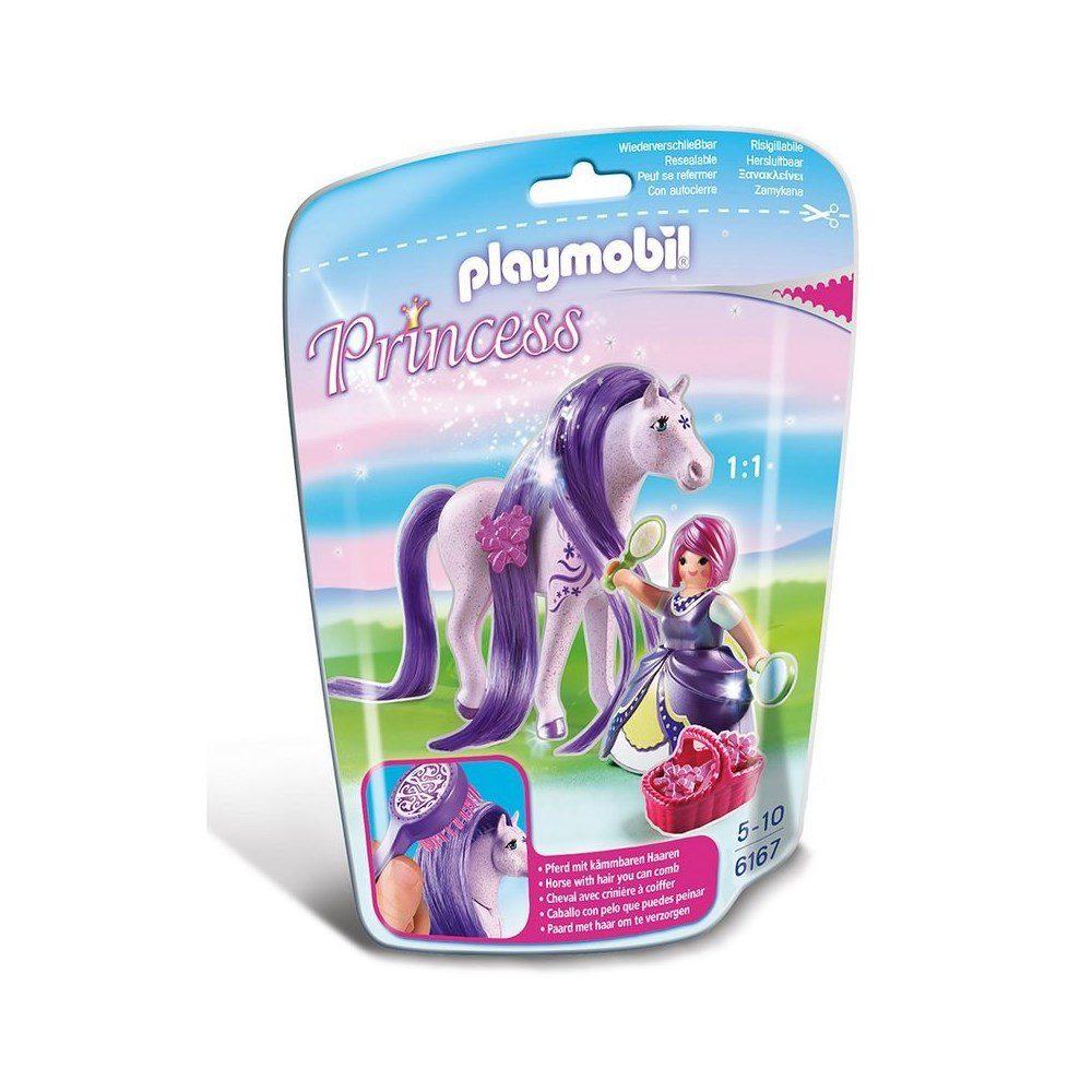 הנסיכה ויולה עם סוס - פליימוביל 6167