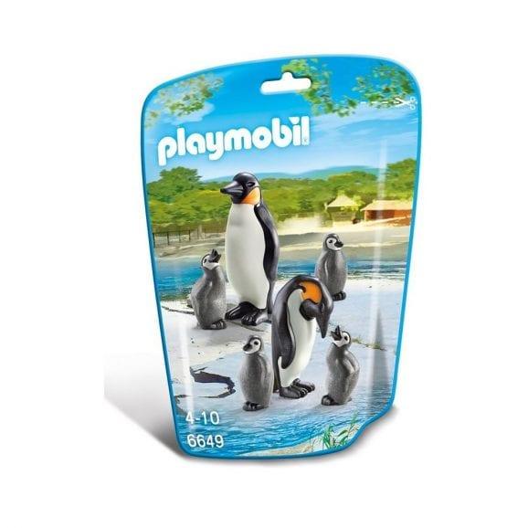 בליסטר משפחת פינגווינים
