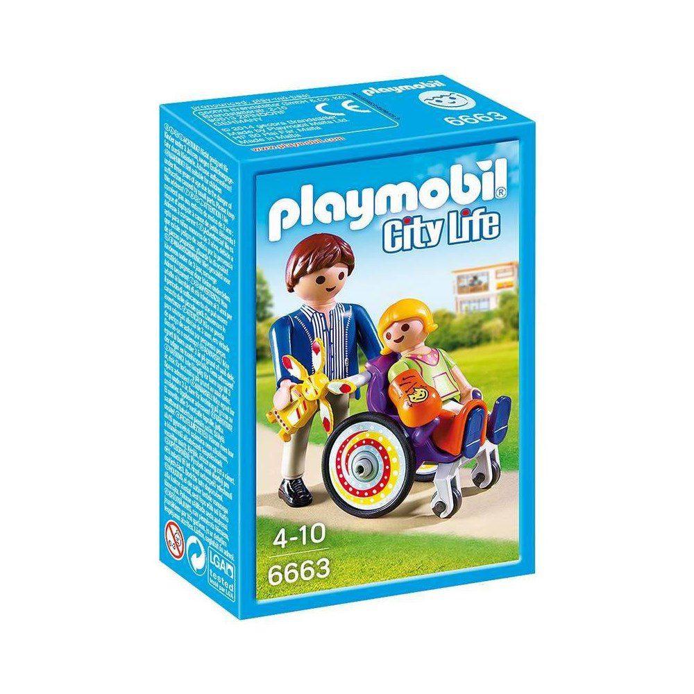 ילד בכסא גלגלים - פליימוביל 6663