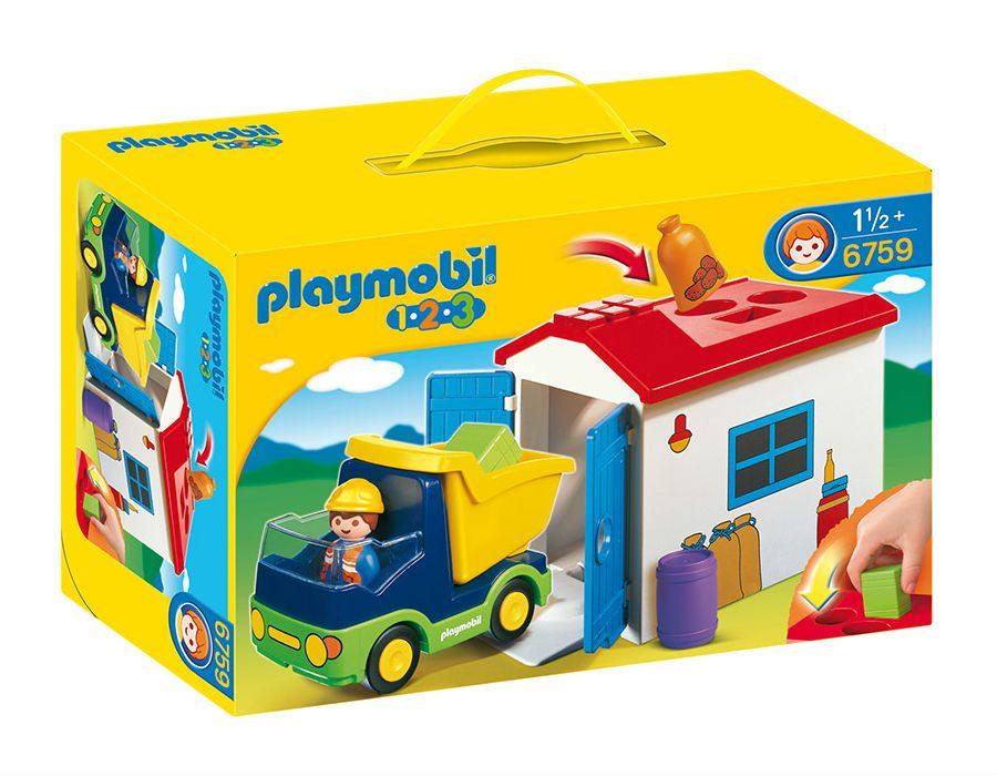 משאית ומוסך - פליימוביל 6759