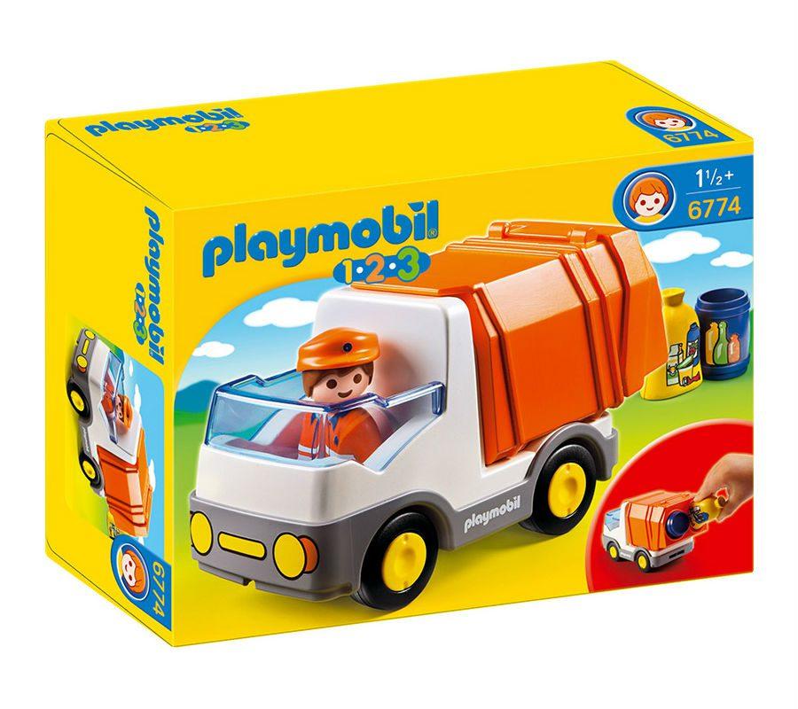 משאית זבל לפעוטות - פליימוביל 6774