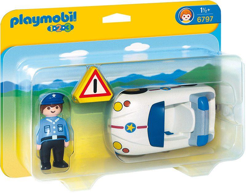 מכונית משטרה - פליימוביל 6797