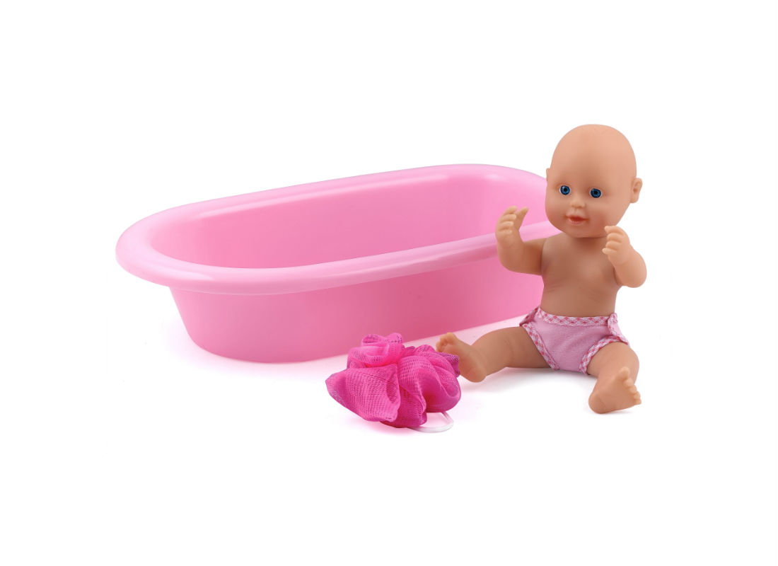 בובת תינוק אמבטיה