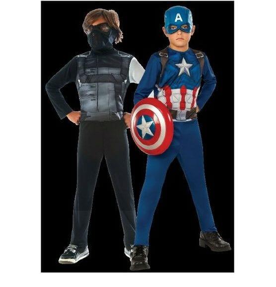 תחפושת קפטן אמריקה וחייל - מידה S