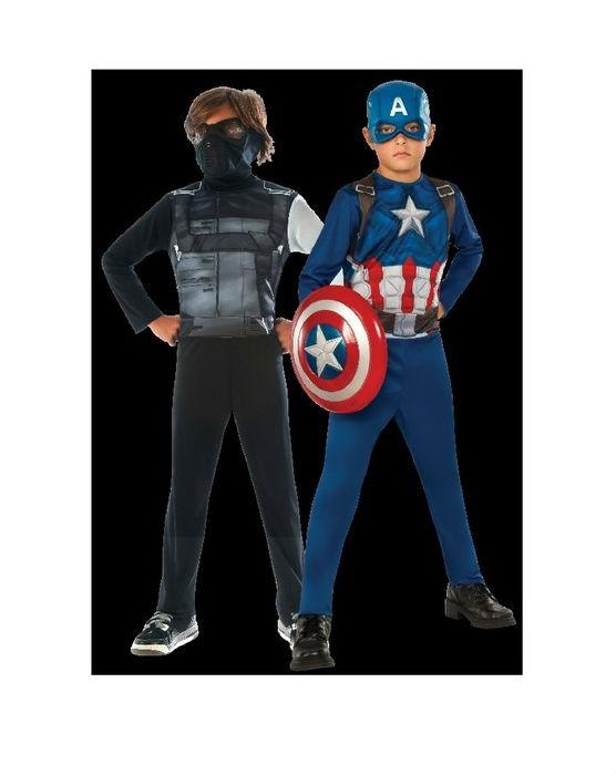 תחפושת קפטן אמריקה וחייל - מידה M