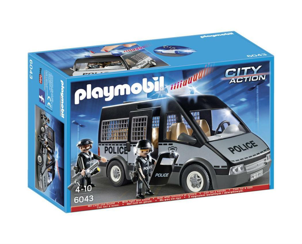 רכב משטרתי ממוגן - פליימוביל 6043