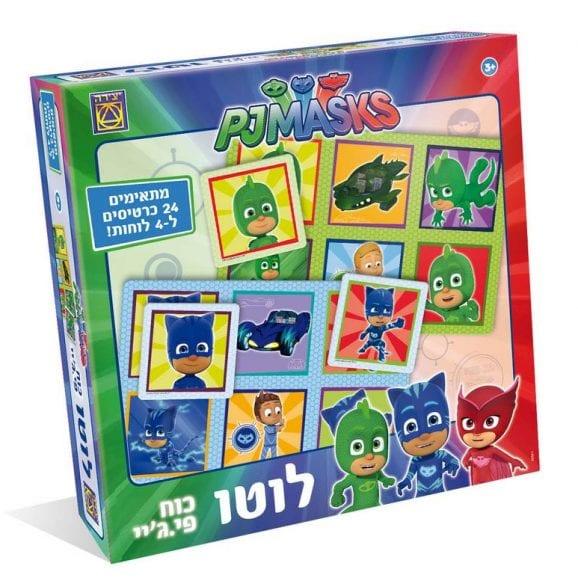 משחק לוטו PJ - כוח פיג'יי