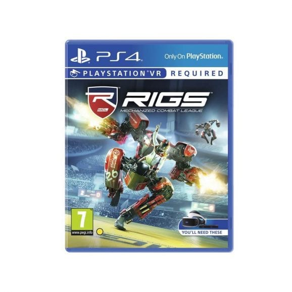 RIGS MECHANIZED COM LEAGUE - VR