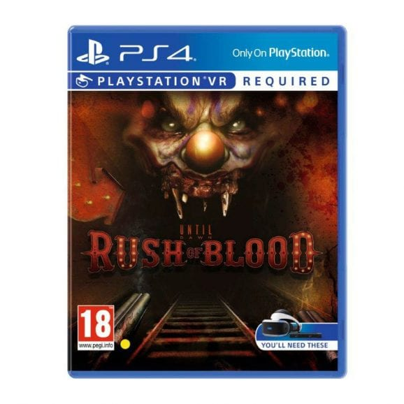 UNTIL DAWN RUSH OF BLOOD - VR