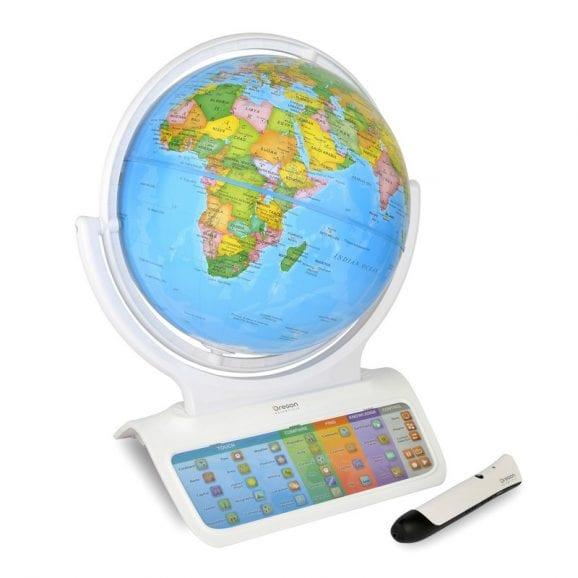 גלובוס עולמי חכם דובר מספר שפות
